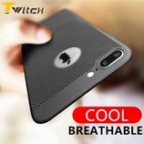 Twitch Black Heat Dissipation Phone Case For iPhone